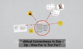 Political Correctness in Comedy - How Far is Too Far?