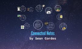 Sean Cordes' Connected Notes