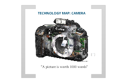 Joseph Szela - Camera Technology Map