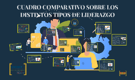 CUADRO COMPARATIVO SOBRE LOS DISTINTOS TIPOS DE LIDERAZGO