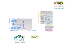 Copy of Copy of Early Literacy Teachers-Introduction to Our Role