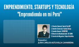 Emprendimiento, startups y tecnología