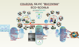 "Copy of COLEGIUL SILVIC ""BUCOVINA"""