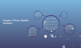 Chapter 11 Water Quality