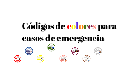 Copy of CODIGO DE COLORES PARA EL CASO DE EMERGENCIAS