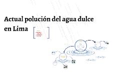 Descripciones básicas del agua