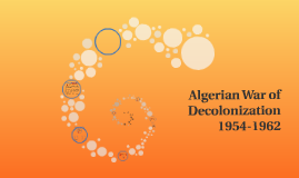 Algerian War of Decolonization
