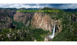 El Parque Nacinal Cascada de Basaeachic