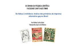 Publicações Destinadas aos Homossexuais no Brasil: O Snob (1963-1969) e Lampião da Esquina (1978-1981)