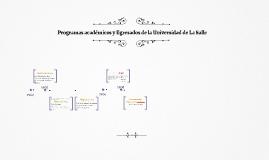 Programas académicos y Egresados de la Universidad de La Sal