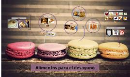 vocabulario de Alimentos desayuno, Venezuela