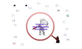 Copy of TECNICAS Y PROCEDIMIENTOS DE AUDITORIA