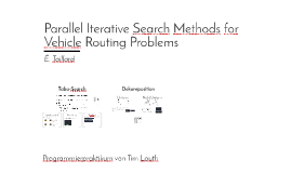 Parallel Iterative Methods for Capacitated Vehicle Routing P