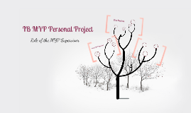 Copy of MYP Personal Project - Role of the MYP Supervisor