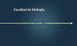 Facultad de biologia