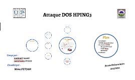 Attaque DOS HPING3