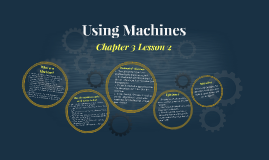 Lesson 2 - Using Machines