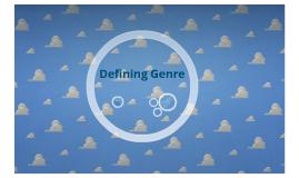 Defining Genre