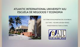 ATLANTIC INTERNATIONAL UNIVERSITY AIU