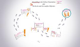 Storytelling in der Online-Präsentation