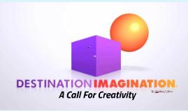A Call For Creativity