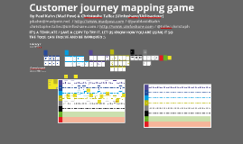 Copy of Customer Journey mapping - Template