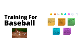 Training For Baseball