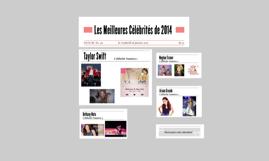 Les Meilleures Célébrités de 2014