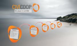 Introductie van CiviCooP.....
