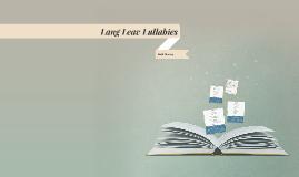 Lang Leav Lullabies