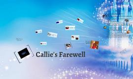 Callie's Farewell