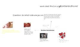 Abotion Vs. Anti-Abortion