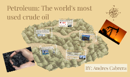 Petrolrum: The world's most consumed crude oil