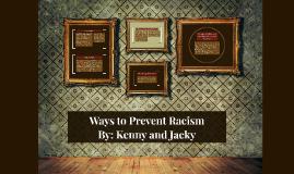 Ways to Prevent Racism