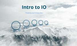 IO Presentation