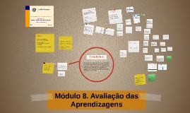Parte II Módulo 8. Avaliação das Aprendizagens