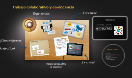 Copy of Copy of Trabajo colaborativo y co-docencia