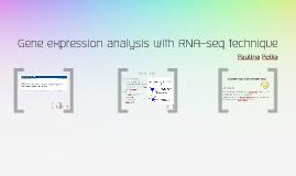 Gene expression analysis with RNA-seq technique