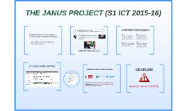 THE JANUS PROJECT (S1 ICT 2015-16)