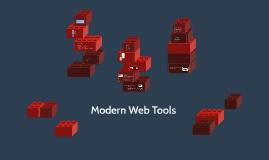 Modern Web Tools