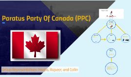 Paratus Party Of Canada