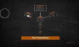 Copy of Test Proyectivos.