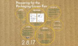 For Katie! Preparing for the Packaging Career Fair