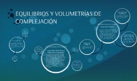 EQUILIBRIOS Y VOLUMETRÍAS DE COMPLEJACIÓN