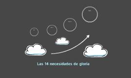 Las 14 necesidades de gloria