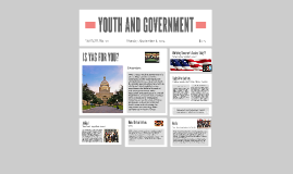 YOUTH AND GOVERNMENT