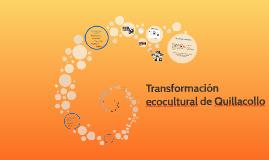 Transformación ecocultural de Quillacollo