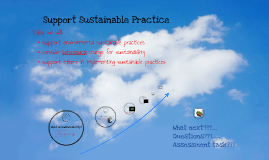 Support Sustainable Practice