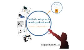 Outils du monde professionnel sur le web