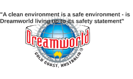 """A clean environment is a safe environment - is Dreamworld l"